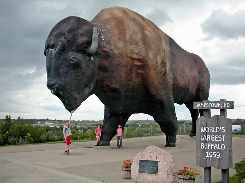 North Dakota – Roadside Attractions