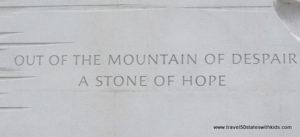 MLK-Memorial-quote-Mountain-of-Despair