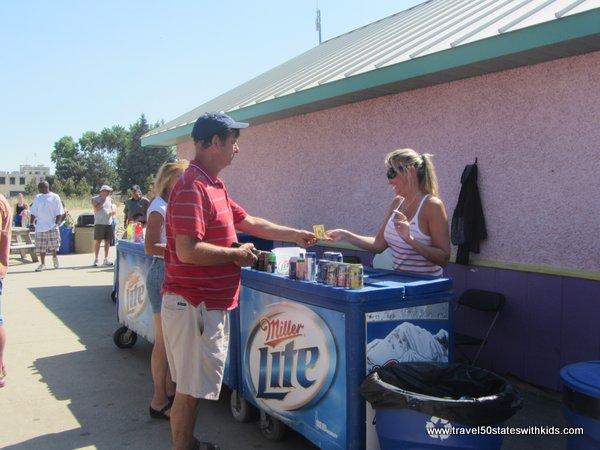Beer at North Beach Racine