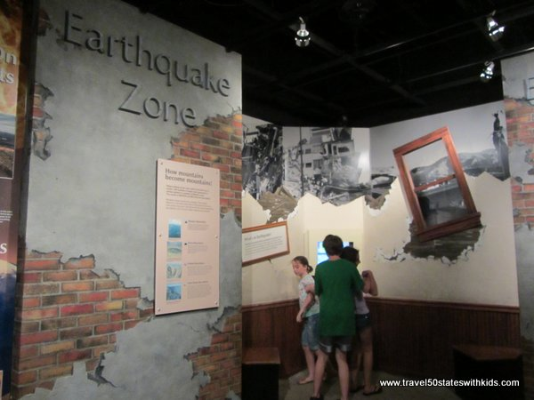 Earthquake Cleveland Museum of Natural History
