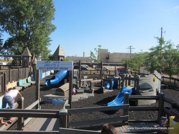 Kids Cove Playground 2 North Beach Racine