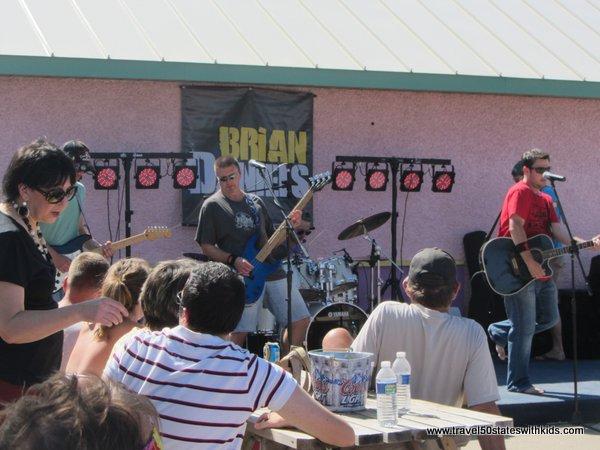 Live music at North Beach Racine