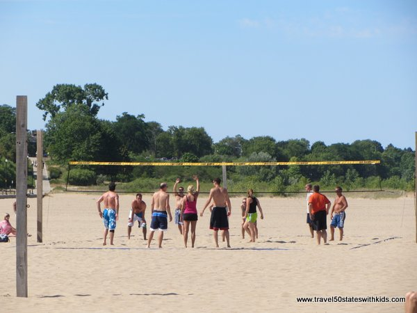 Volleyball at North Beach Racine