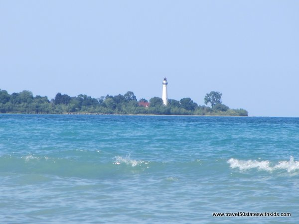 Wind Point Lighthouse from North Beach Racine
