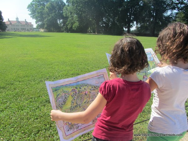 Adventure Map for Kids at Mount Vernon