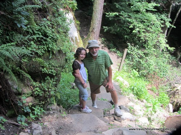 Hiking the Kildoo Trail at McConnells Mill State Park