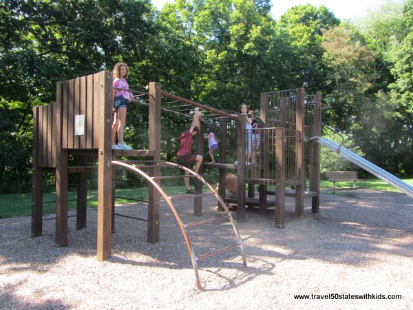 Playground at McConnells Mill State Park