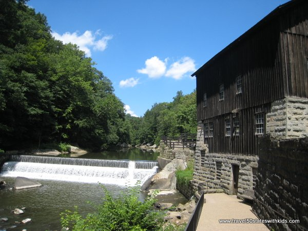 Slippery Rock Creek and McConnells Mill