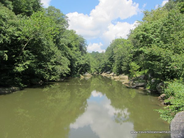 Slippery Rock Creek at McConnells Mill