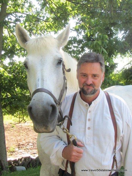 Horse at Shaker Village