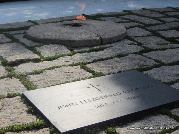 JFK Grave at Arlington