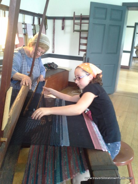 Making a Shaker Rag Rug