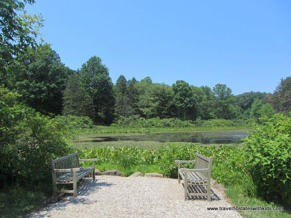Pond at Holden Arboretum