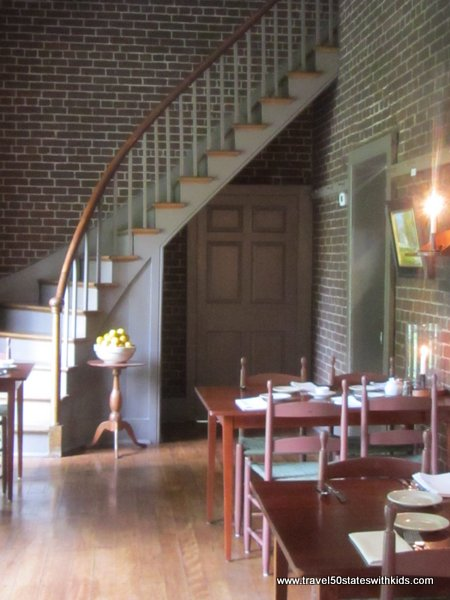 Shaker Village Trustees' Office Dining Room