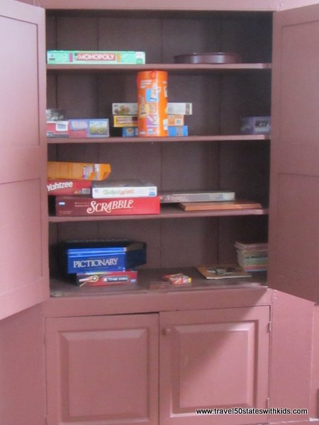 Game Cabinet at Shaker Village