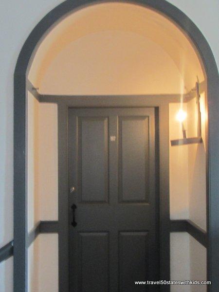 Shaker Village Room Entrance