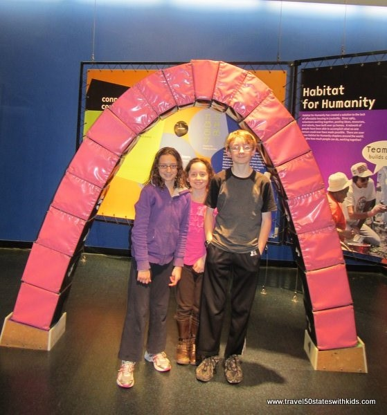 Kentucky Science Center Arch