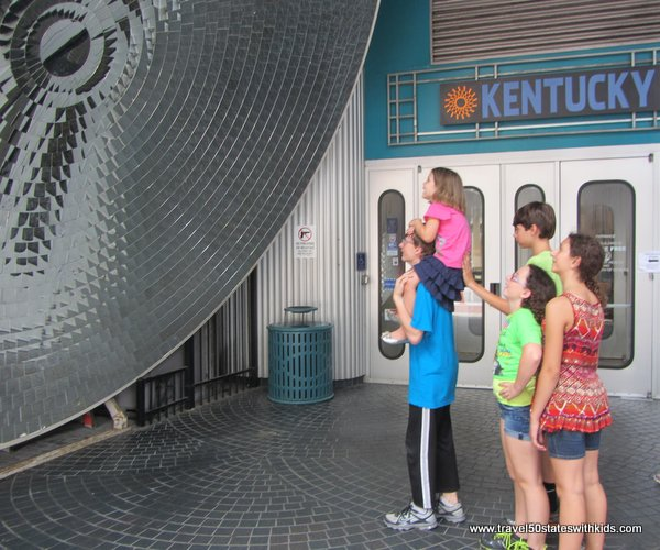 Kentucky Science Center Parabolic Mirror