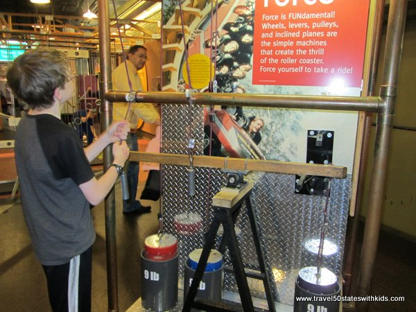 Kentucky Science Center simple machines