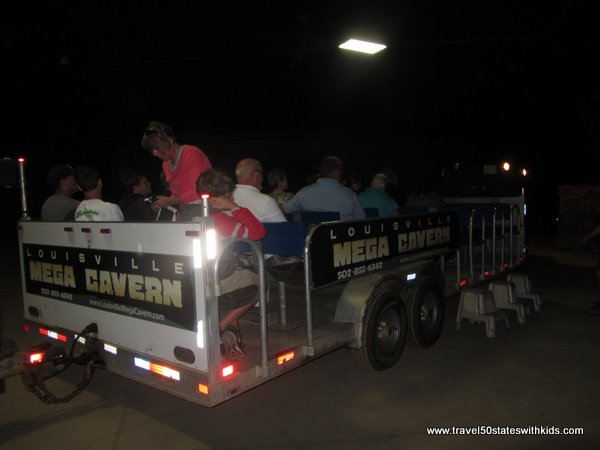 Louisville MEGA Cavern Historic Tram Tour