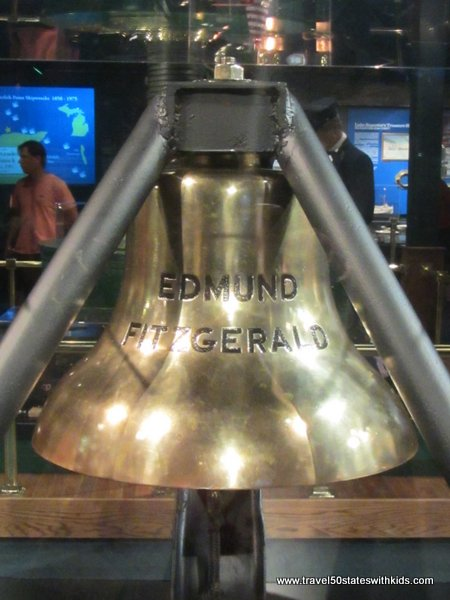 Edmund Fitzgerald Bell at Great Lakes Shipwreck Museum