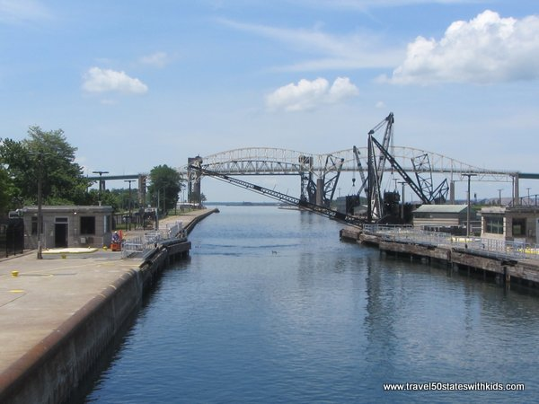 Exiting the Soo Locks