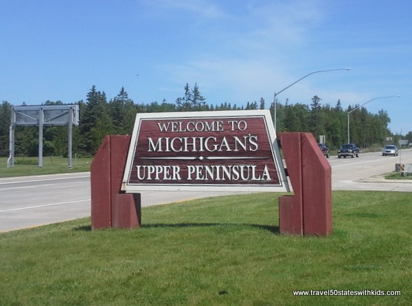 Welcome to Michigan's Upper Peninsula