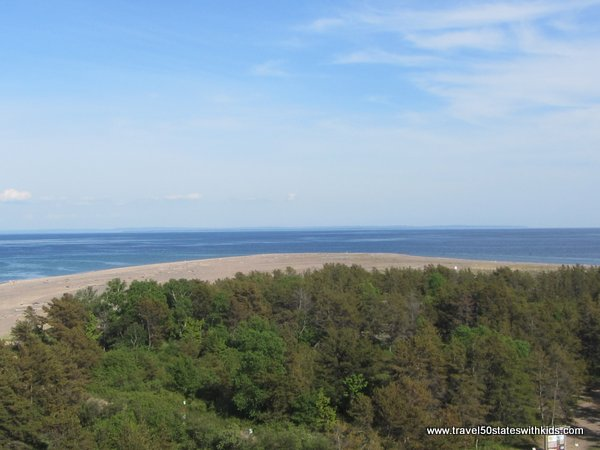 Whitefish Point - view from lighthouse