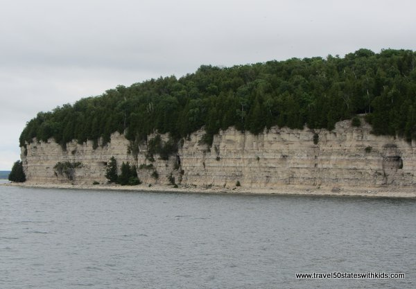 Dolomite Cliffs at Fayette Historic Park