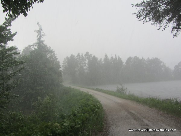 Downpour at Seney NWR