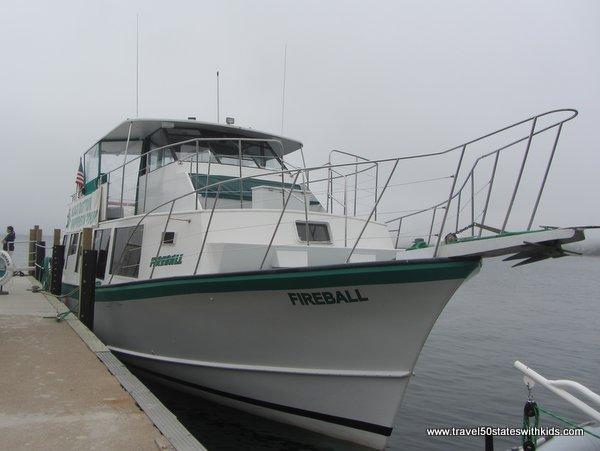 Glass Bottom Shipwreck Tour Boat Fireball
