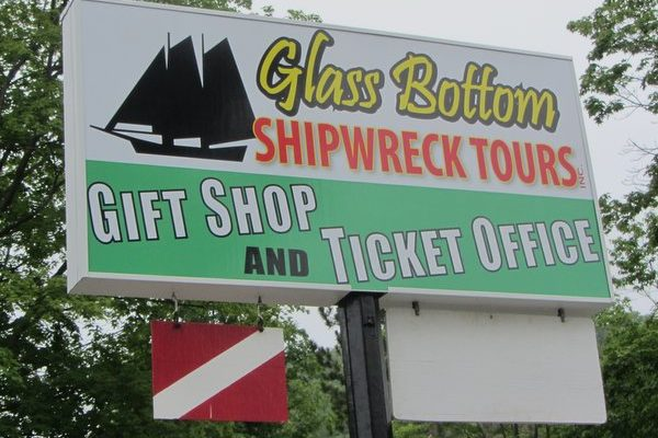 Michigan – Glass Bottom Shipwreck Tours
