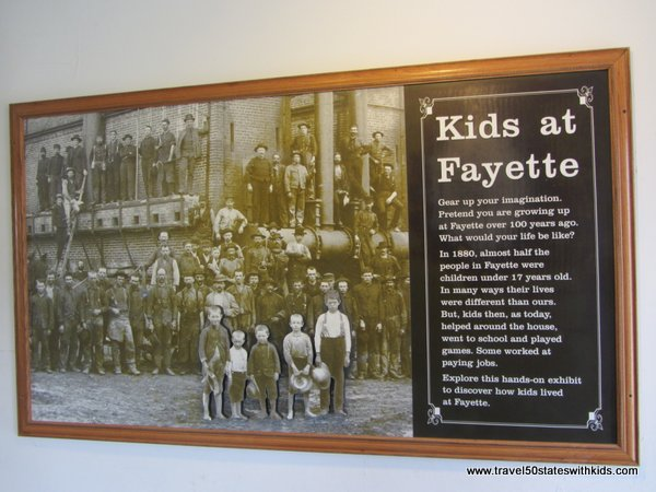 Kids at Fayette Exhibit