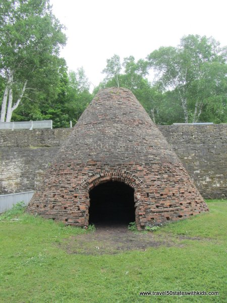 Kiln at Fayette Historic Park