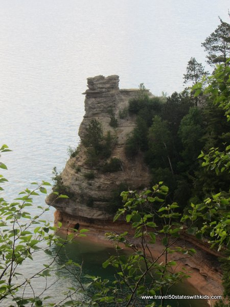 Miners Castle Overlook Pictured Rocks National Lakeshore