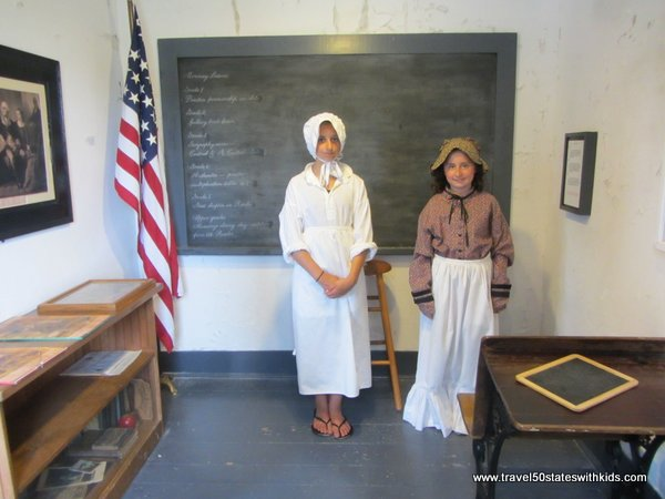Schoolroom at Fayette Historic Park