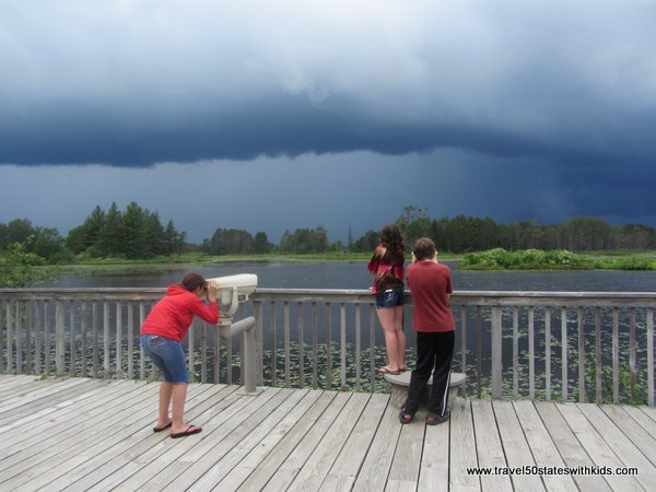 Storm at Seney NWR