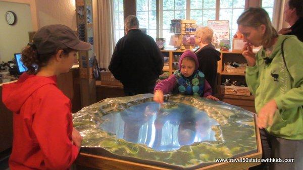 Crater Lake National Park Visitor Center