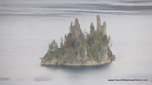 Crater Lake Phantom Ship