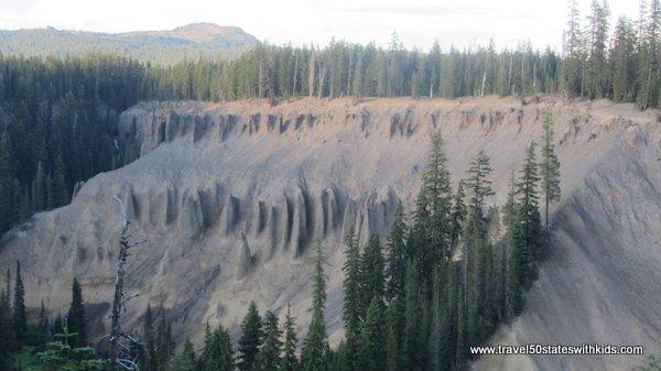 Crater Lake Pinnacles