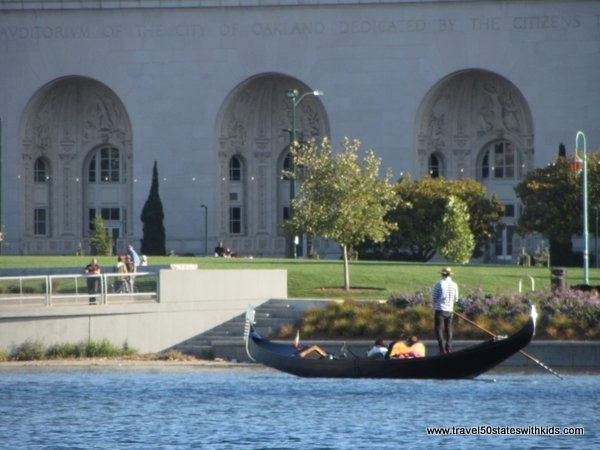 Lake Merritt Gondola Tour