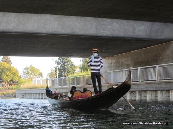 Lake Merritt Gondola ride