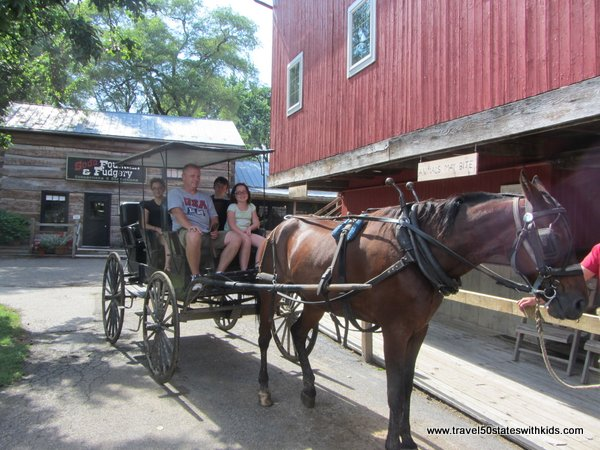 Amish Acres Horse & Buggy Ride