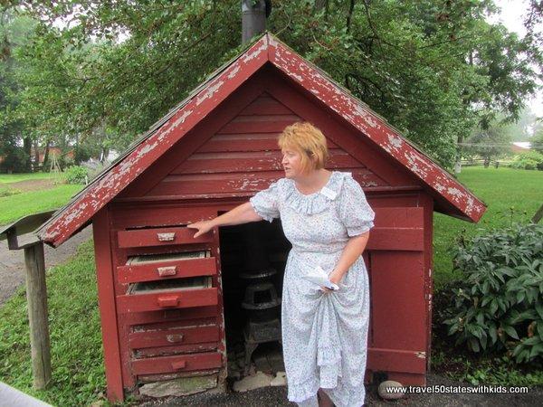 Amish Acres House Tour Out buildings