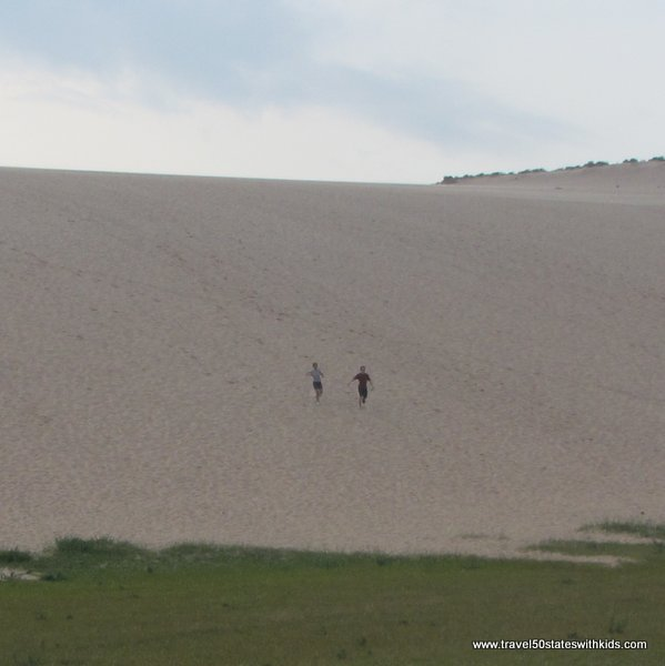 Back from the Dune Climb Hike