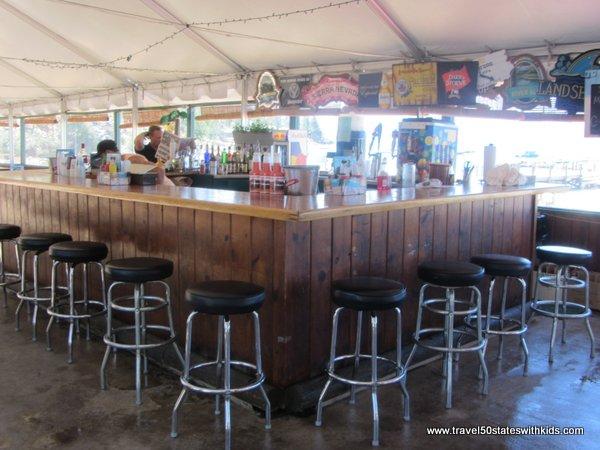 Bar at Round Hill Pines Beach and Marina Lake Tahoe