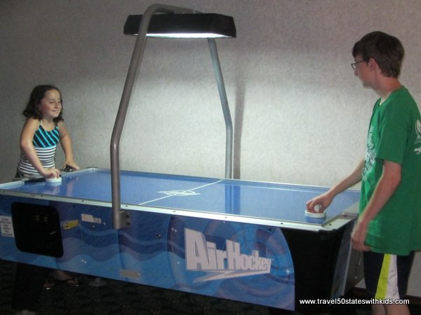 Bayshore Resort Arcade Air Hockey