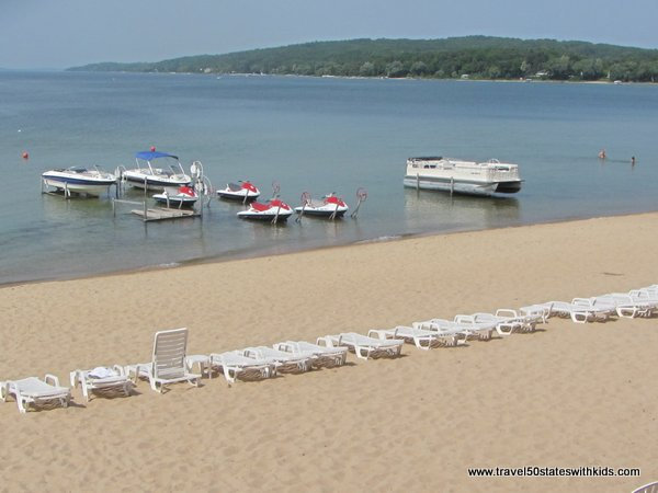 Beach at Bayshore Resort - Traverse City