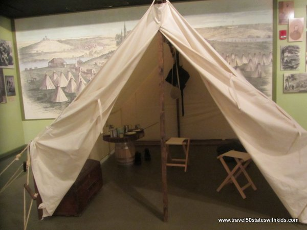Civil War Exhibit at Kentucky Museum