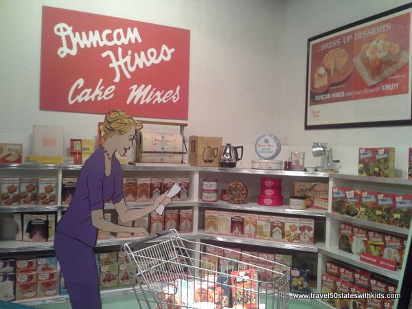 Duncan Hines Cake Mix exhibit at Kentucky Museum